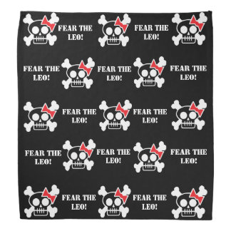 FEAR THE LEO! Bandanna