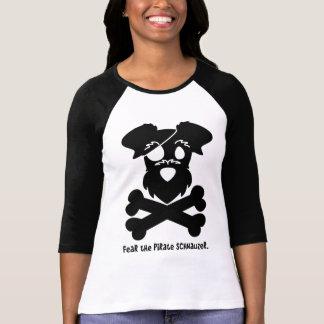Fear the Pirate Schnauzer T-Shirt