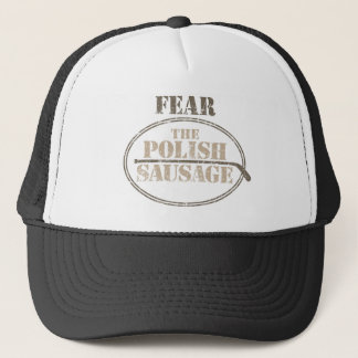 Fear the Polish Sausage (Hockey) Trucker Hat