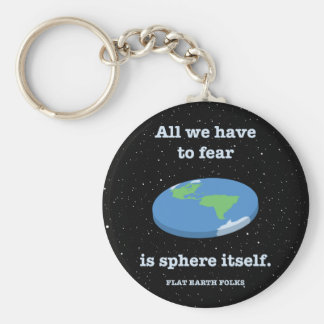 Fear the Sphere Key Ring