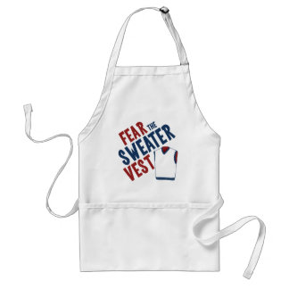 Fear the Sweater Vest Standard Apron