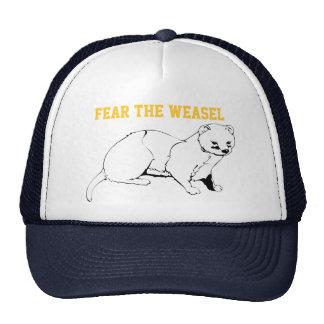 Fear the Weasel Cap