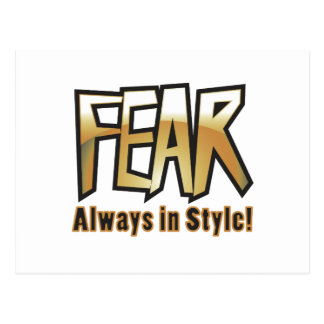 fear too postcard