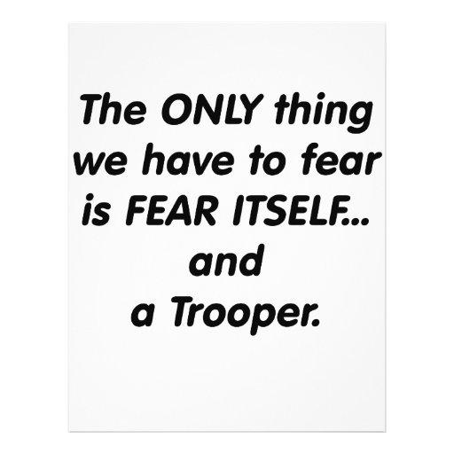 Fear Trooper Custom Flyer
