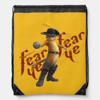 Fear Ye Fear Ye Drawstring Bag