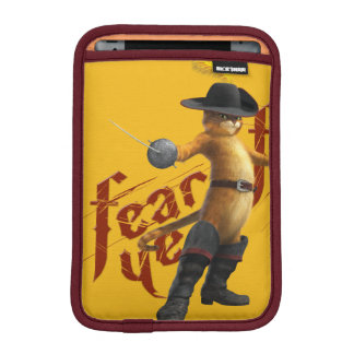 Fear Ye Fear Ye iPad Mini Sleeve