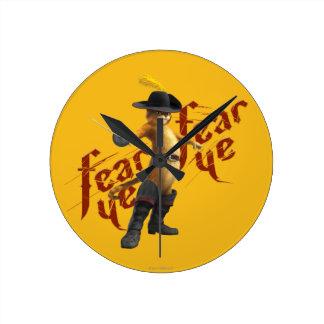 Fear Ye Fear Ye Round Clock
