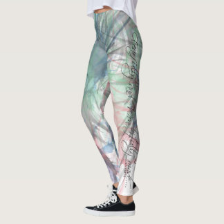 """Fearfully and Wonderfully made"" leggings"