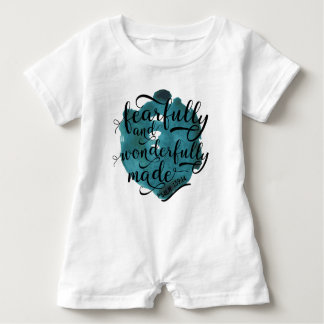 Fearfully and Wonderfully Made Psalm 139:14 Baby Bodysuit