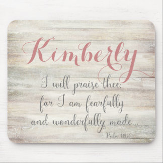 Fearfully & Wonderfully Made - Ps. 139:14 Mouse Pad