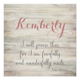 Fearfully & Wonderfully Made - Ps. 139:14