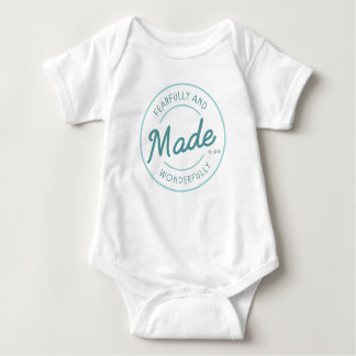 Fearfully & Wonderfully Made Vintage Stamp Baby Bodysuit
