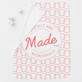 Fearfully & Wonderfully Made Vintage Stamp Buggy Blanket