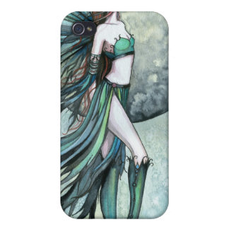 Fearless Gothic Fantasy Molly Harrison Fairy Art Cases For iPhone 4