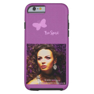 Fearless Lady Tough iPhone 6 Case