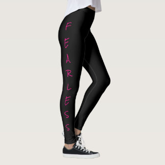 """FEARLESS"" Women's Leggings"