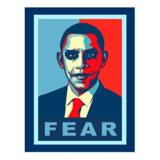 Fearsome Obama Postcard