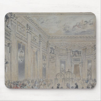 Feast given by Madame du Barry  for Louis XV Mouse Mat