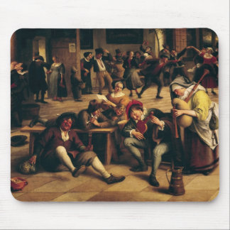 Feast in an Inn, detail of the central group Mouse Pad