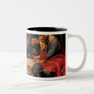 Feast in the house of Simon the Pharisee, c.1620 Two-Tone Coffee Mug