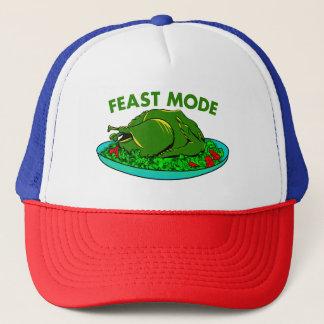 Feast Mode Funny Thanksgiving Trucker Hat