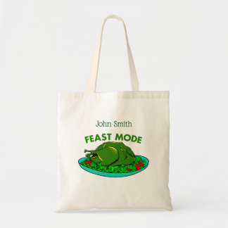 FEAST MODE THANKSGIVING TURKEY TOTE BAG