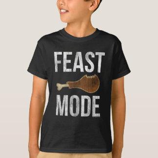 Feast Mode Vintage Thanksgiving Beast Boys Kids T-Shirt