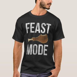 Feast Mode Vintage Thanksgiving Beast T-Shirts