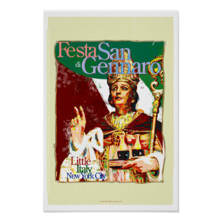 Feast of San Gennaro Poster