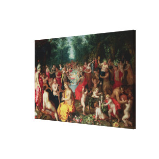 Feast of the Gods Canvas Prints
