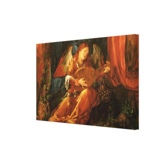 Feast of the Rose Garlands, Angel Albrecht Durer Gallery Wrapped Canvas