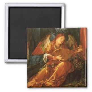 Feast of the Rose Garlands, Angel Albrecht Durer Refrigerator Magnet