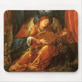 Feast of the Rose Garlands, Angel Albrecht Durer Mouse Mat