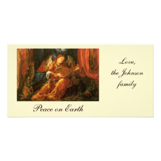 Feast of the Rose Garlands, Angel Albrecht Durer Personalised Photo Card