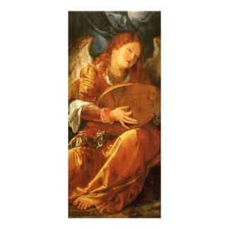 Feast of the Rose Garlands, Angel Albrecht Durer Rack Card Template