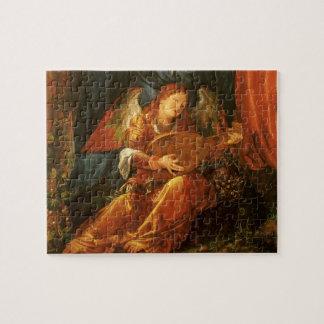 Feast of the Rose Garlands Angel by Albrecht Durer Jigsaw Puzzle