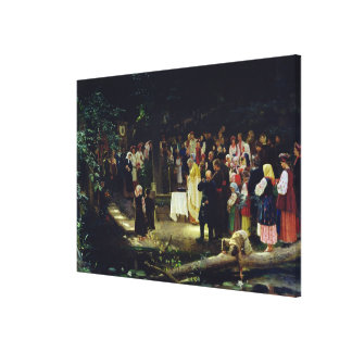 Feast of the Transfiguration of Our Lord Canvas Print