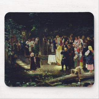 Feast of the Transfiguration of Our Lord Mouse Mat