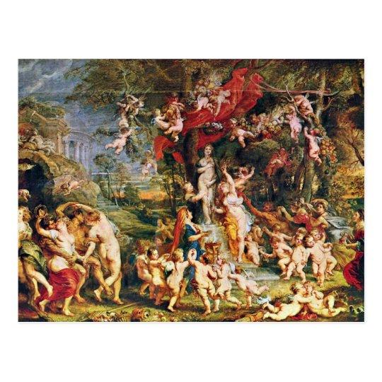 Feast Of Venus By Rubens Peter Paul (Best