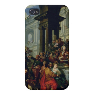 Feast under an Ionic Portico, c.1720-25 iPhone 4 Covers