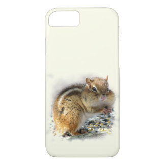 Feasting Chipmunk iPhone 7 Case