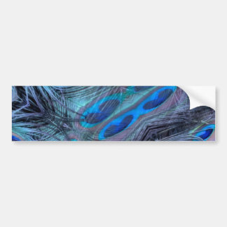 Feather Abstract Bumper Sticker