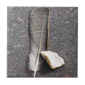 Feather and Stone Tile