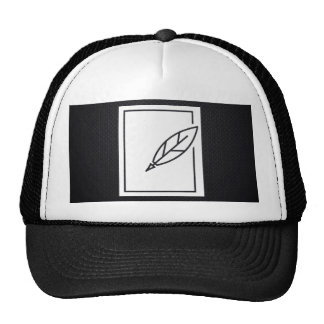 Feather Blackboards Symbol Cap