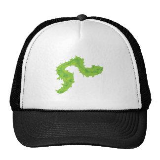 Feather Boa Trucker Hats
