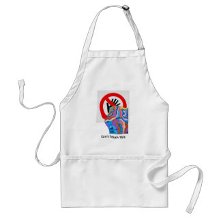 Feather Can't Touch This Standard Apron
