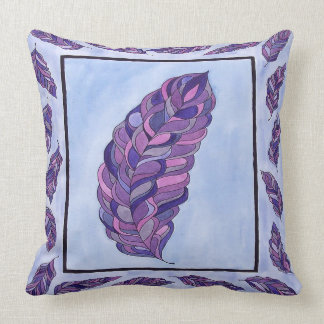 Feather Design Pillow Throw Cushions