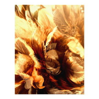 Feather Duster Close Up Custom Flyer
