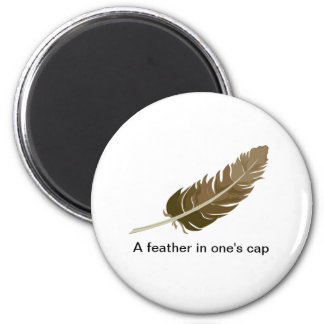 Feather Fridge Magnets