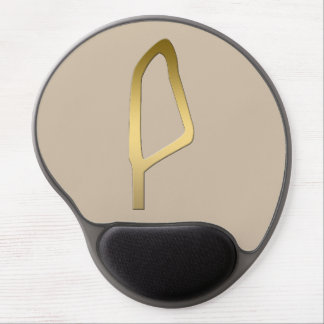 Feather of Maat Egyptian symbol Gel Mouse Pad